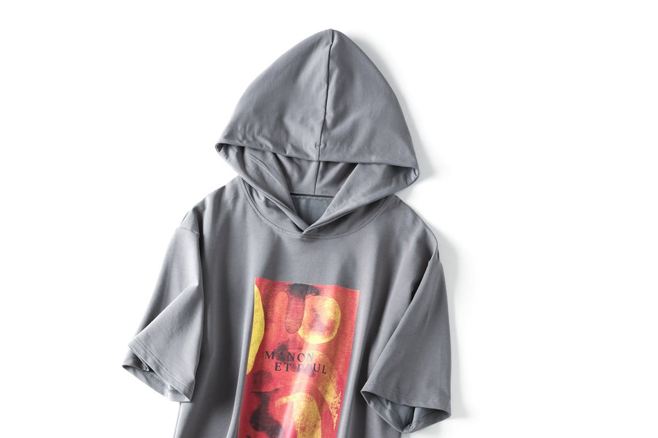 Celia Plus Size Graphic Hoodie T Shirt Top