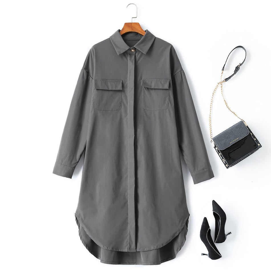 plus size shirt dresses