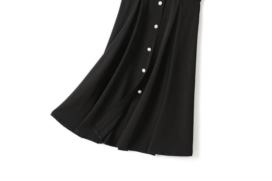 Carleigh Plus Size Suspender Midi Skirt