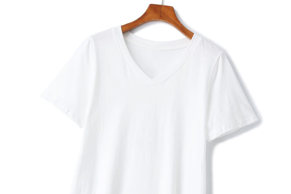 Tori Plus Size V Neck T Shirt
