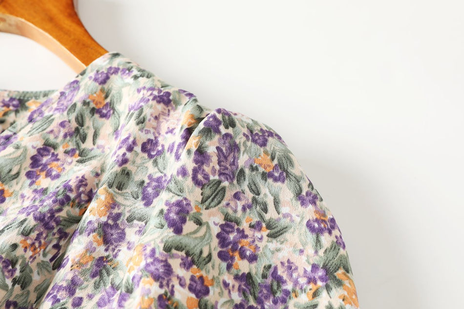 Bayley Plus Size Vintage Floral Dress