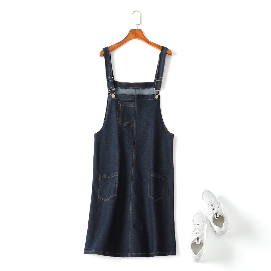 plus size dungarees