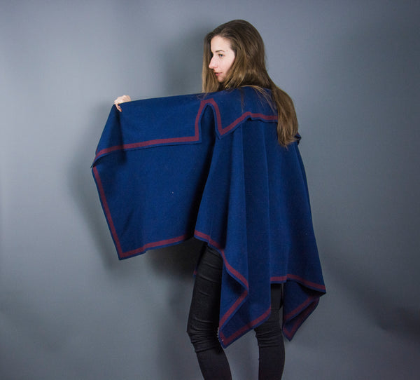 Burberry Cashmere Wool Poncho