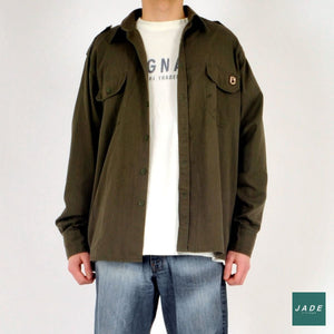 Army Green Shirt | Overdele | Deerhunter | Army green army grøn Green Hunter Shirt Khaki Green