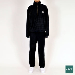 Black Vintage Trousers #134 | Bukser | Vintage | black trousers Oversized Retro Vintage