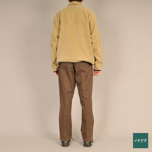Brown Trousers | Bukser | Bison | Brede Bredt fit brown Brun bukser