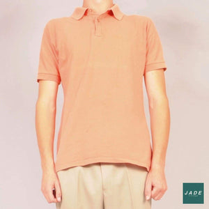 Fred Perry Poloshirt | Overdele | Fred Perry | Fred Perry Orange Poloshirt Retro Sportswear