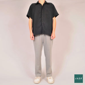 Grey Vintage Trousers #19 | Bukser | Vintage | Bredt fit bukser Grey pants trousers