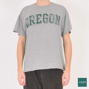 Oregon Champion T-Shirt | Overdele | Champion | grey grå print t-shirt tee