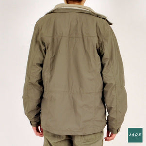 Signal Winter Jacket with Detachable Fleece | Outerwear | Signal | Army green army grøn Fleece Jacket Jakke