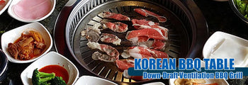 Korean BBQ Table Banner
