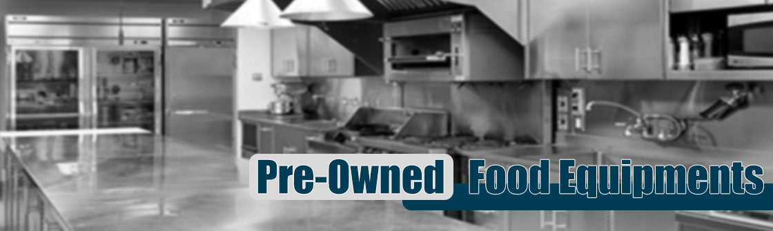 Pre-Owned Food Equipments Header