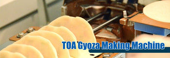 Toa Gyoza Machine Banner