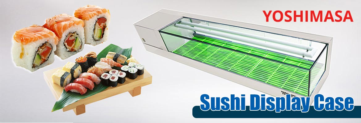 Yoshimasa Sushi Display case