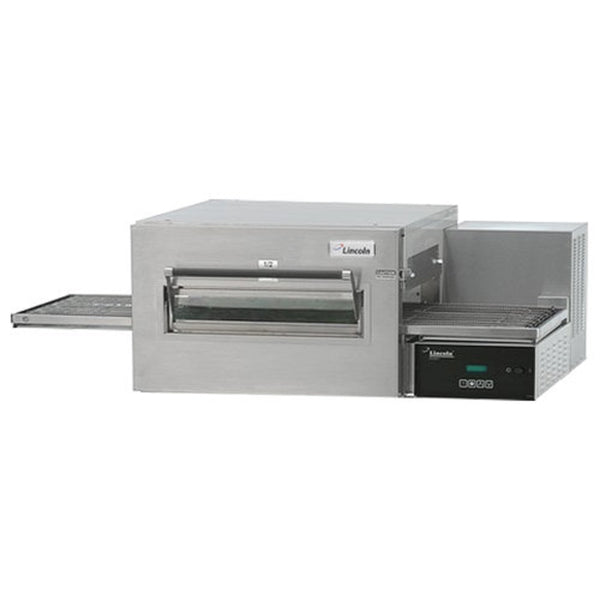 Garland Lincoln 1132-000-V Impinger II 1100 Series Ventless Single Belt Electric Conveyor Oven - 208V, 3 Phase, 10 kW