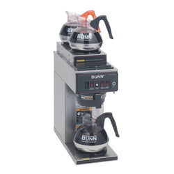 CWT15-3T (2 Upper/1 Lower Warmer) 12 Cup Automatic Coffee Brewer with 3 Warmers  12950.6013