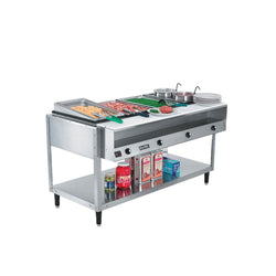 Vollrath ServePan Electric Four Pan Hot Food Table 120V (Sealed Well) – 38004
