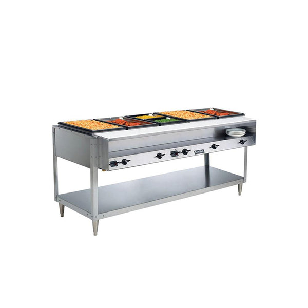 Vollrath ServePan Electric Five Pan Hot Food Table 120V (Sealed Well) – 38105
