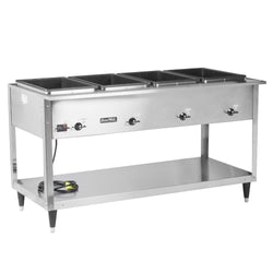 Vollrath 38204 ServeWell SL Electric Four Pan Hot Food Table 120V