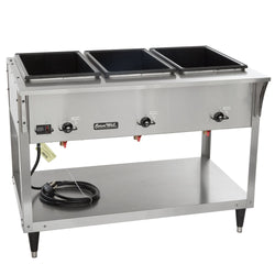 Vollrath 38213 ServeWell SL Electric Three Pan Hot Food Table 120V