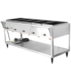 Vollrath 38215 ServeWell SL Electric Five Pan Hot Food Table 120V