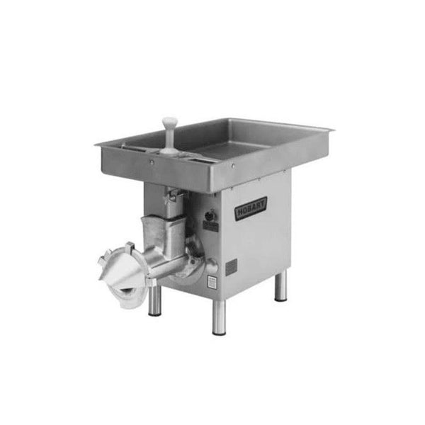 Hobart 4732-18-STD # 32 Meat Chopper with Feed Pan
