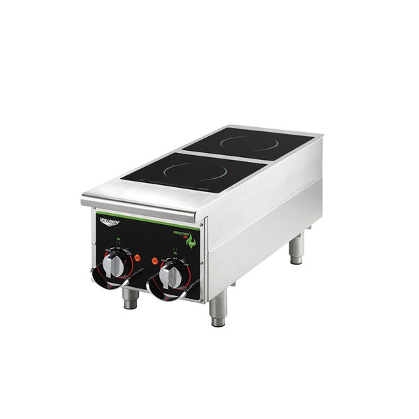 Vollrath Cayenne® Heavy-Duty Induction Hot Plates – Dual-Hob Manual Control – 912HIDC