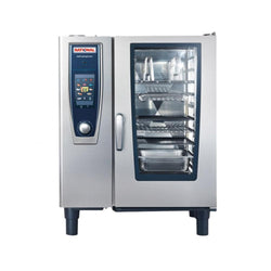 Rational SelfCookingCenter B118206.27E  5 senses model 101  single natural gas combi oven