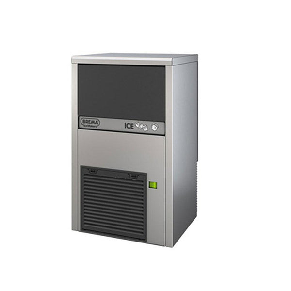 Brema CB249A 62 Lb Undercounter Cube Ice Machine, Self Contained, Air Cooled