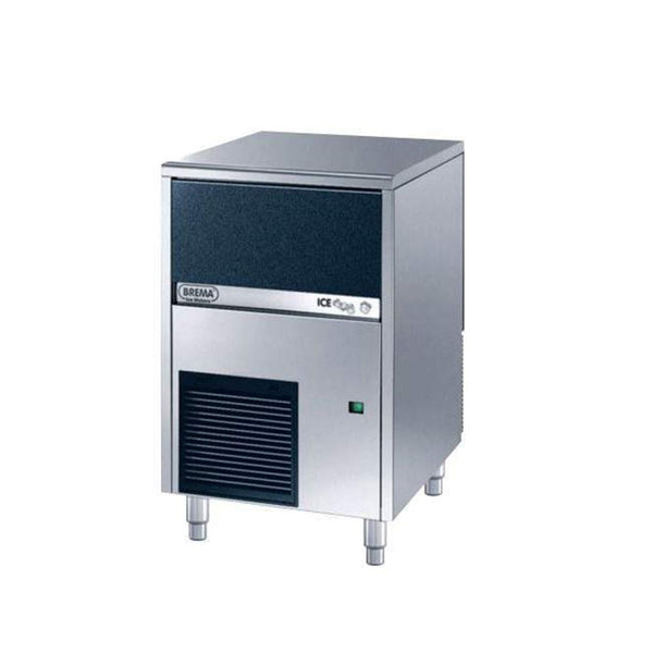 Brema CB316A 73 Lb Undercounter Cube Ice Machine, Self Contained, Air Cooled