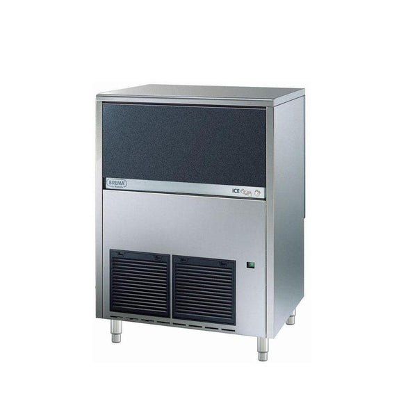 Brema CB855A 200 Lb Undercounter Cube Ice Machine, Self Contained, Air Cooled