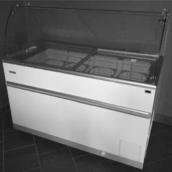 Celcold - CF52ESG Ice Cream Cabinet with Food Guard and Baskets