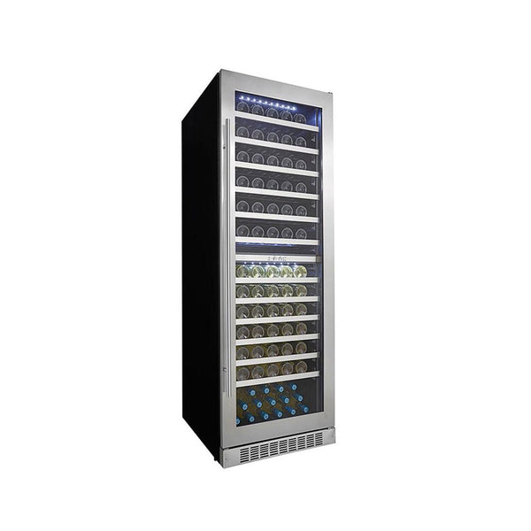 "Danby Silhouette Professional Bordeaux 129-Bottle Built-in Wine Cellar - 24"" Dual Zone - DWC140D1BSSPR"