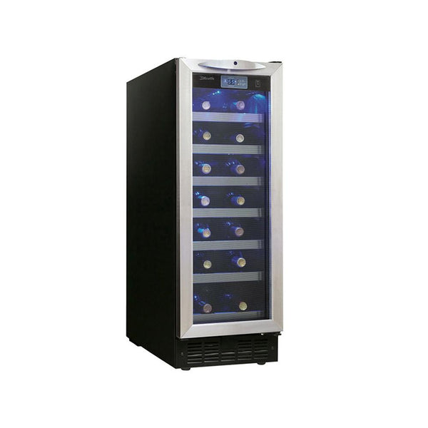 Danby Silhouette Pecorino 27 Bottle Wine Cooler - Stainless Steel Door - DWC276BLS