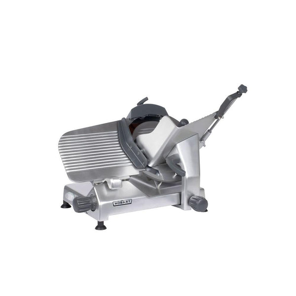 "Hobart EDGE13A-11 13"" Heavy Duty Automatic Gravity Feed Meat Slicer - 1/2 hp"