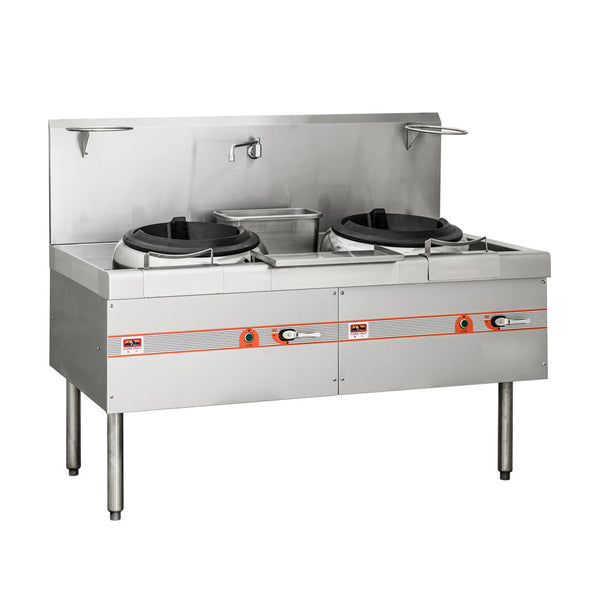 Flame-Mate ESR-2-B Environmental Cooking Range Chop Suey Style - 2 Burners