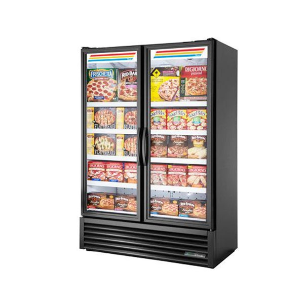 "True FLM-54F~TSL01 54"" Two Glass Door Merchandising Freezer"