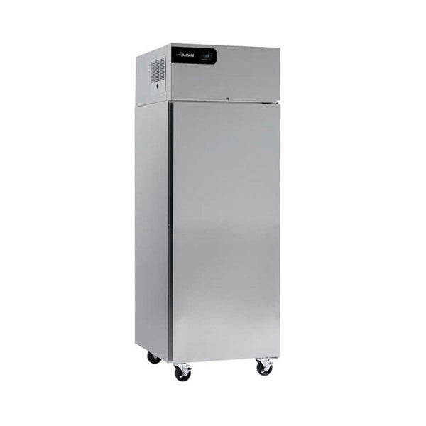 "Delfield GBR1P-S Coolscapes 27"" Top-Mount Solid Door Reach-In Refrigerator with Stainless Steel Exterior / Aluminum Interior"