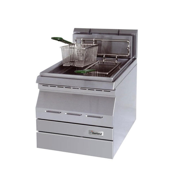 Garland GD-15F Designer Series Natural Gas 15 lb. Countertop Deep Fryer