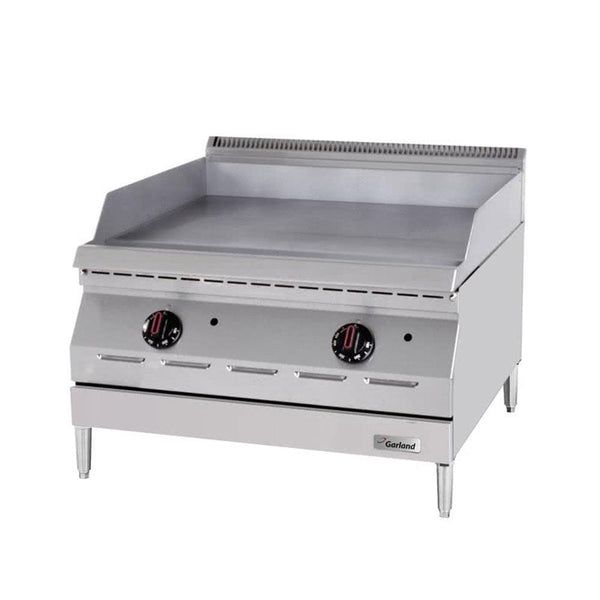 "Garland GD-15GTH Designer Series Natural Gas / Liquid Propane 15"" Countertop Griddle with Thermostatic Controls"