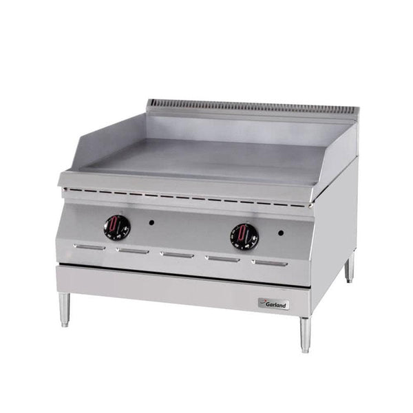 "Garland GD-24GFF Designer Series Natural Gas / Liquid Propane 24"" Countertop Griddle with Flame Failure Protection"