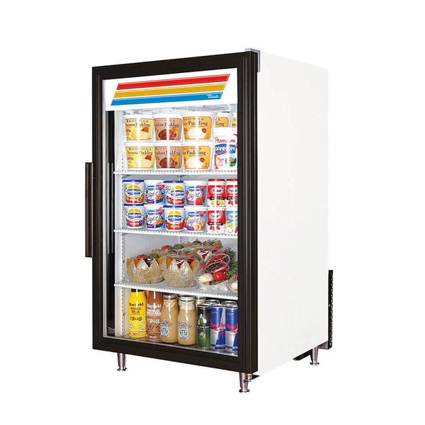 "True GDM-07-HC~TSL01 24"" Glass Door Merchandiser"