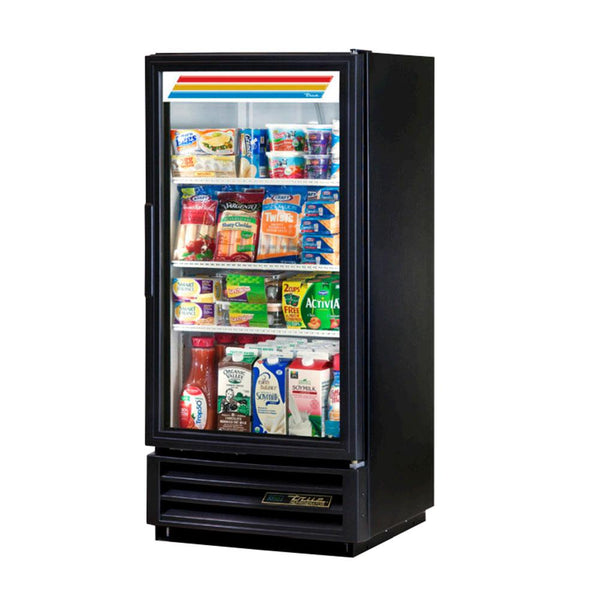 "True GDM-10-HC~TSL01 25"" Refrigerated Glass Door Merchandiser"