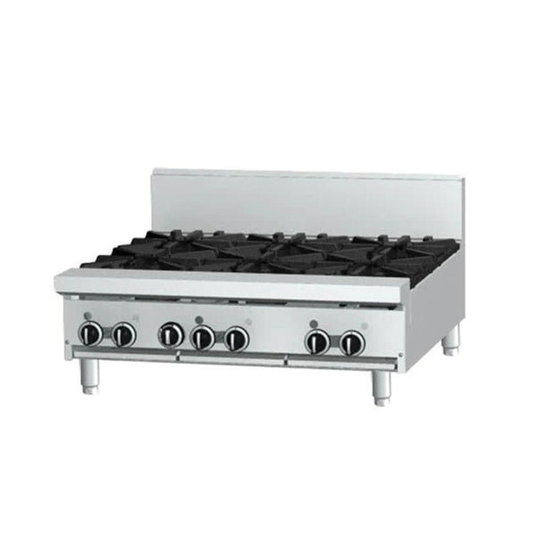 "Garland GF36-6T Natural Gas / Liquid Propane 6 Burner Modular Top 36"" Range with Flame Failure Protection - 156,000 BTU"