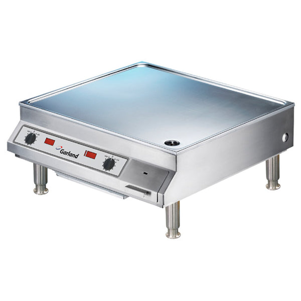 "Garland SHDUGR 10000 25 13/16"" Dual Countertop Induction Griddle"