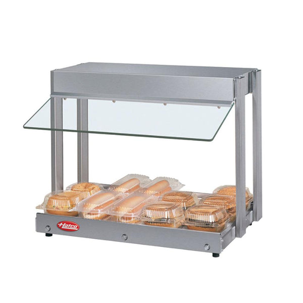 Hatco GRHW-XSGS Glo-Ray Mini-Merchandiser Hot Food Display