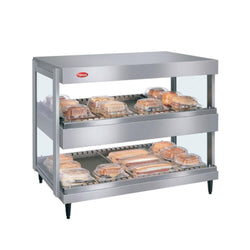 Hatco GRSDH-XXD Glo-Ray Merchandising Dual Shelf Warmer