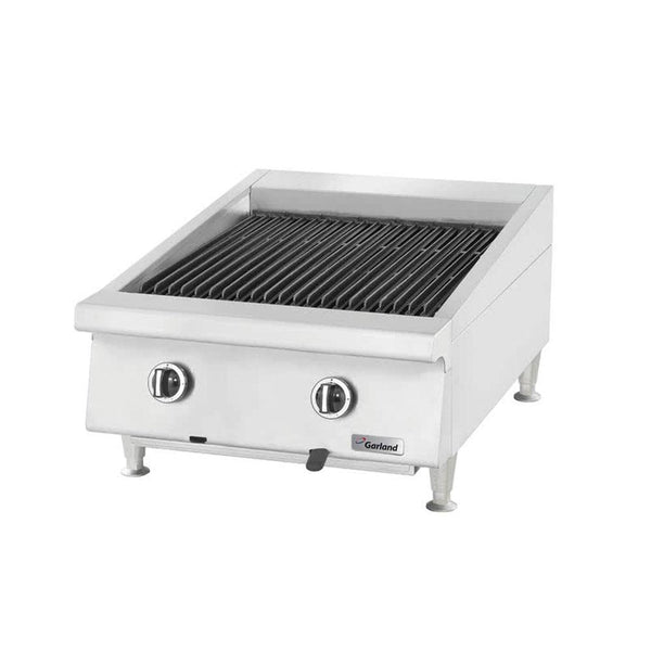 "Garland GTBG24-AR24 Natural Gas 24"" Radiant Charbroiler with Adjustable Grates"
