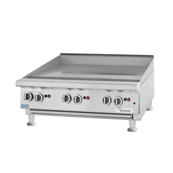 "Garland GTGG36-G36M Natural Gas / Liquid Propane 36"" Countertop Griddle with Manual Controls"