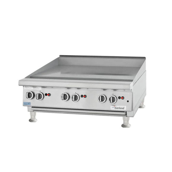 "Garland GTGG36-GT36M Natural Gas / Liquid Propane 36"" Countertop Griddle with Thermostatic Controls"
